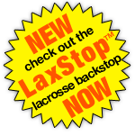 New, check out the LaxStop lacrosse backstop now
